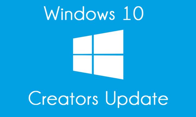 Creators Update : Faites vous-même la mise à jour de Windows 10