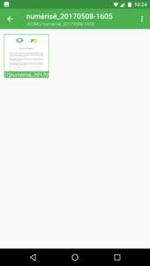 Application pour convertir des fichiers PDF en JPG