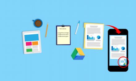Numériser un document depuis votre smartphone comme un professionnel avec Google Drive