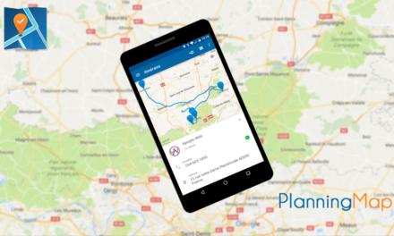 PlanningMap : Votre assistant personnel qui vous fera gagner du temps.