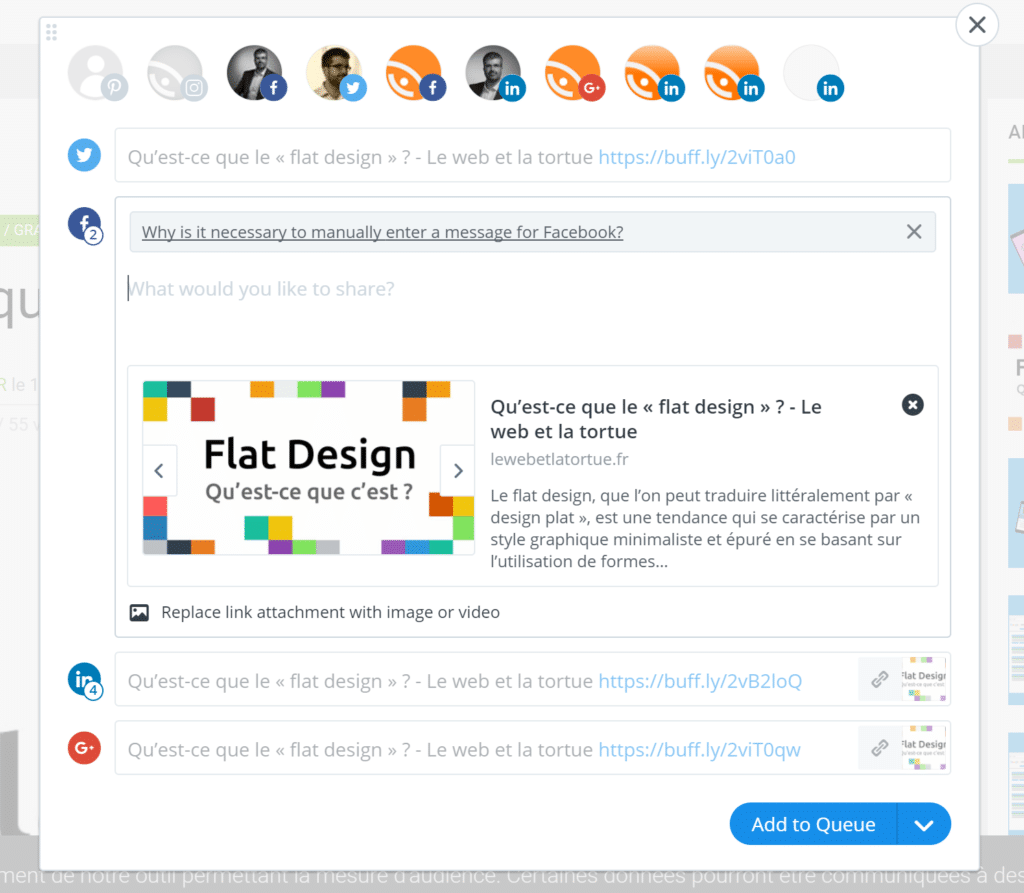 interface extension Chrome