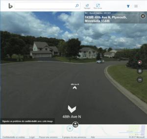 quand la voiture de Google Street View rencontre celle de bing Microsoft