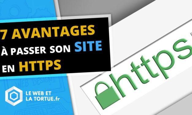 7 avantages à passer son site en HTTPS