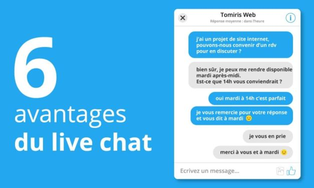 6 avantages à installer un live chat sur son site internet